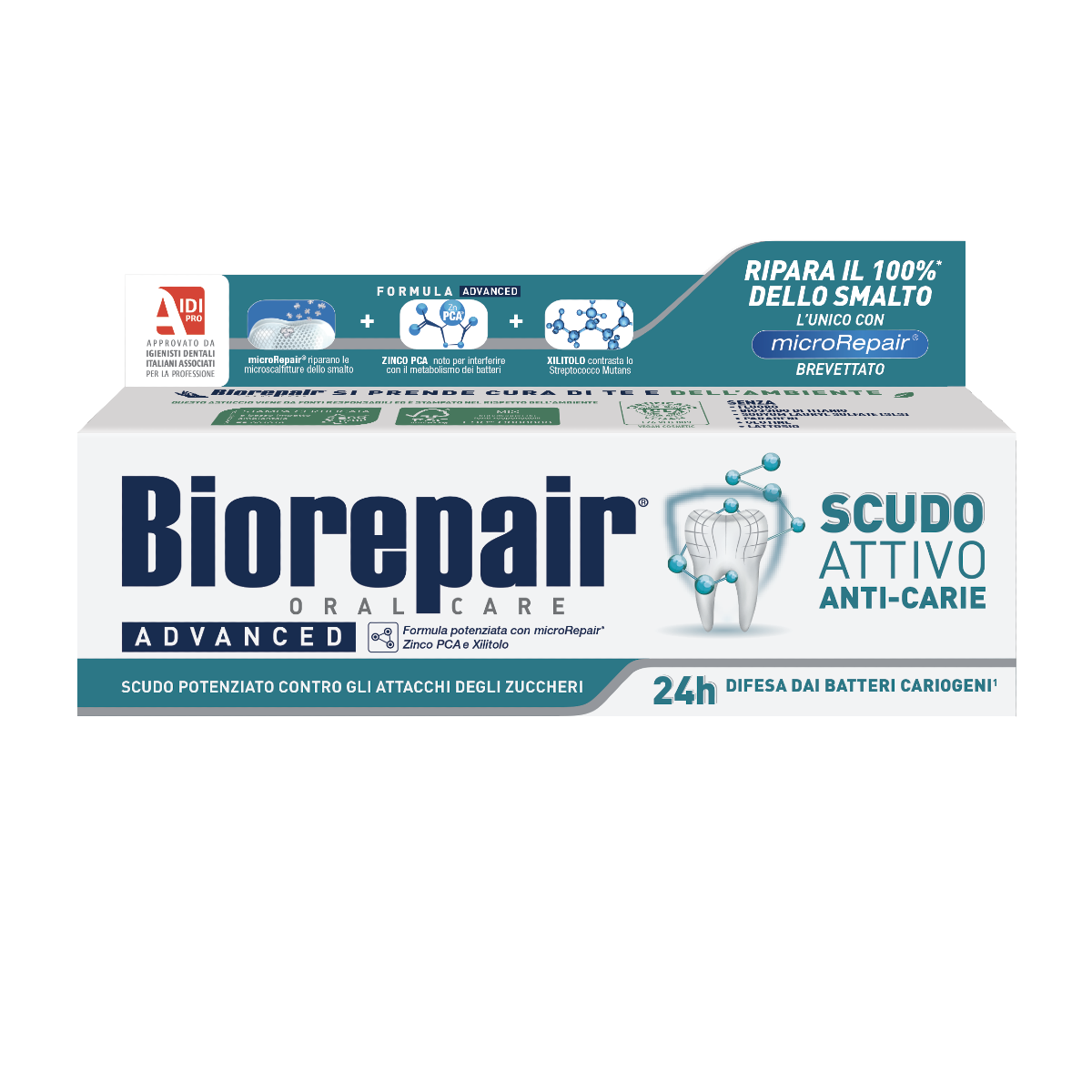 Biorepair® ADVANCED Scudo Attivo Anti-carie